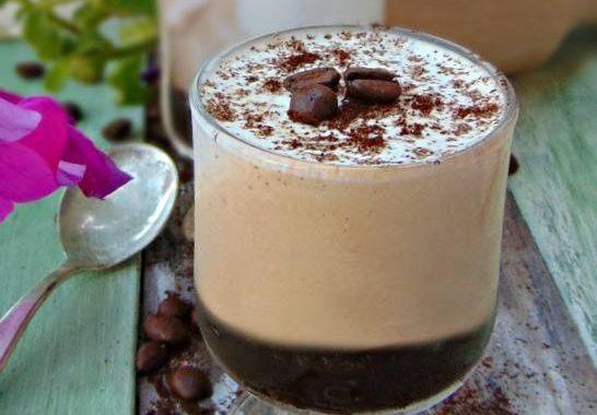Caffè in crema. Da gustare come un gelato