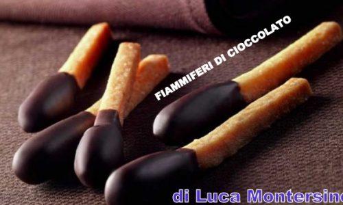 L. Montersino Fiammiferi di cioccolato