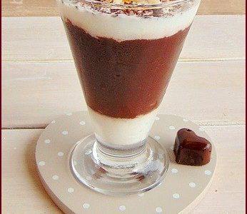 dessert al cioccolato e pera