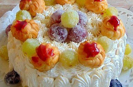 Torta all'uva con zibibbo, dai profumi settembrini