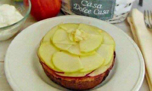 Delizia di mele e cachi