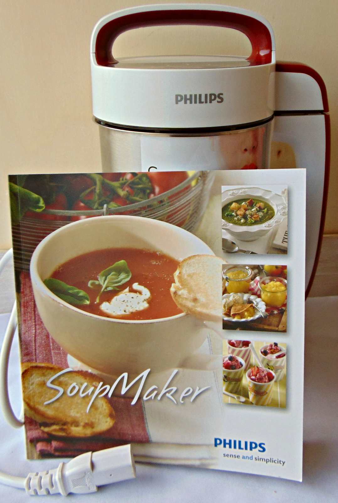 Soup maker philips semplicit in cucina recensione - Soup maker philips video ...