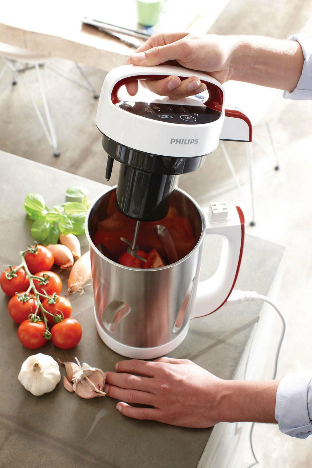 Zuppa di friarielli e taralli - Soup maker philips video ...