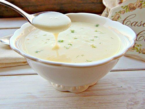 Zuppa Parmentier o  potage parmentier