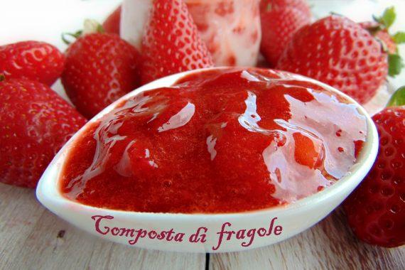 Composta di fragole