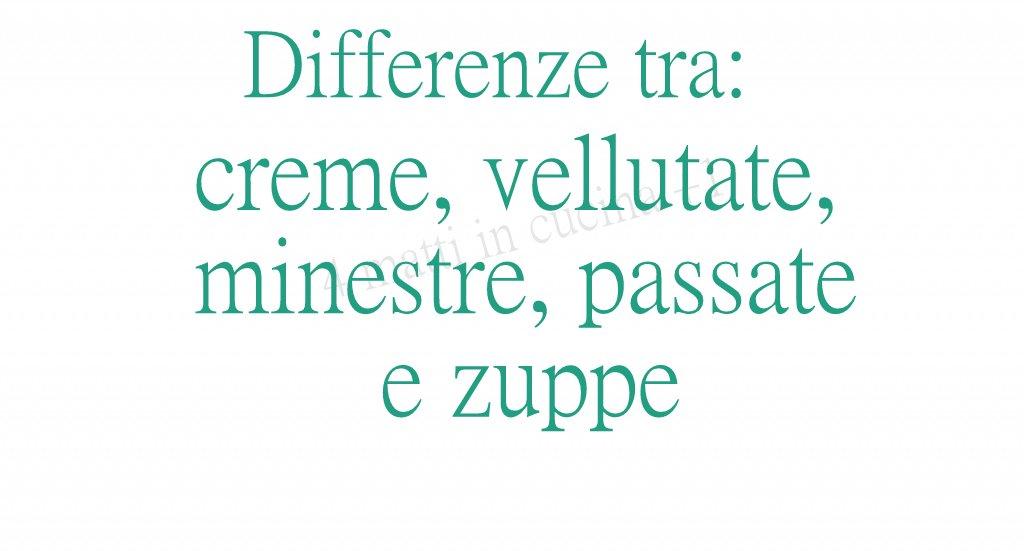 differenze tra