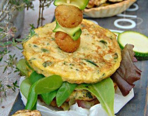 Frittatina  di zucchine   finger food