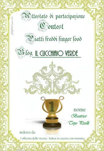 contest PRIMO PREMIO SANDRA DA FINIRE