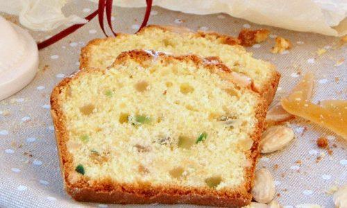 Plum cake dolce con canditi