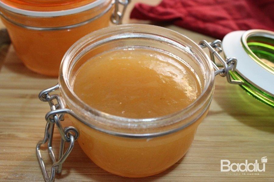 marmellata di pere e limone