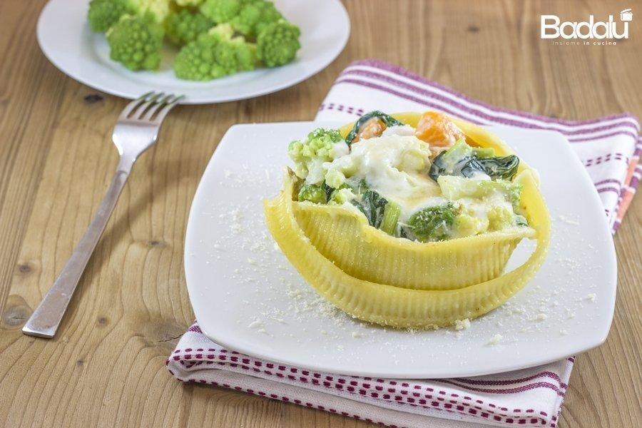 caccavelle con zucca e broccoli- La fabbrica della pasta di gragnano