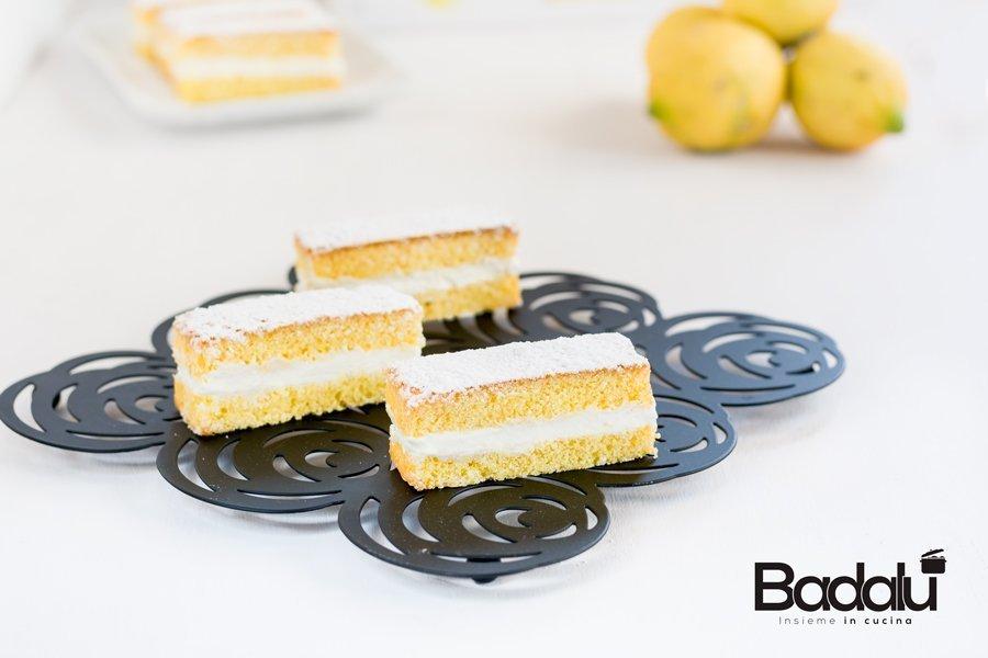 Mini cake paradiso con crema di limone Silikomart