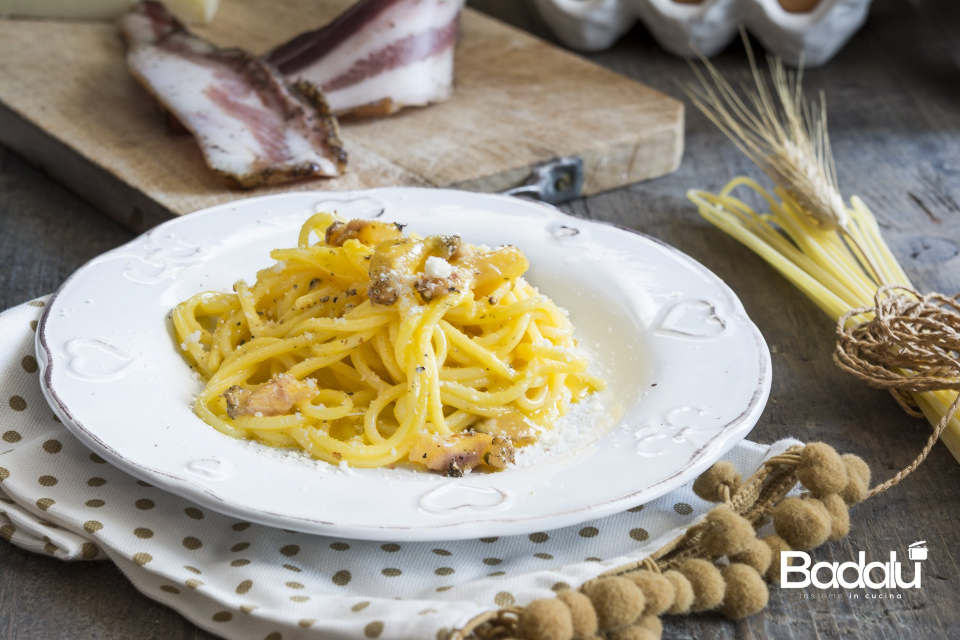 Spaghetti alla carbonara La Fabbrica della Pasta di Gragnano