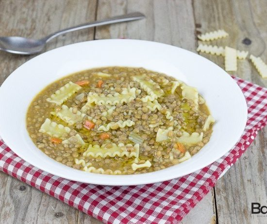 Pasta e lenticchie- la fabbrica della pasta di gragnano