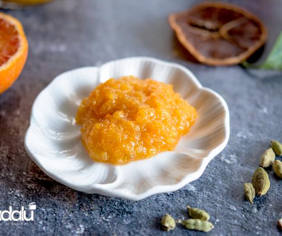 Marmellata di arance aromatizzata al cardamomo