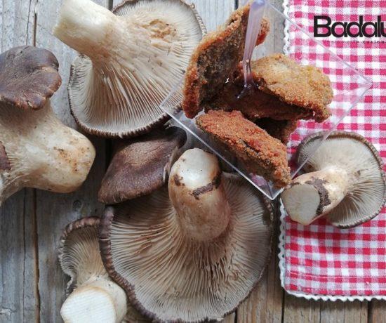 Funghi cardoncelli fritti
