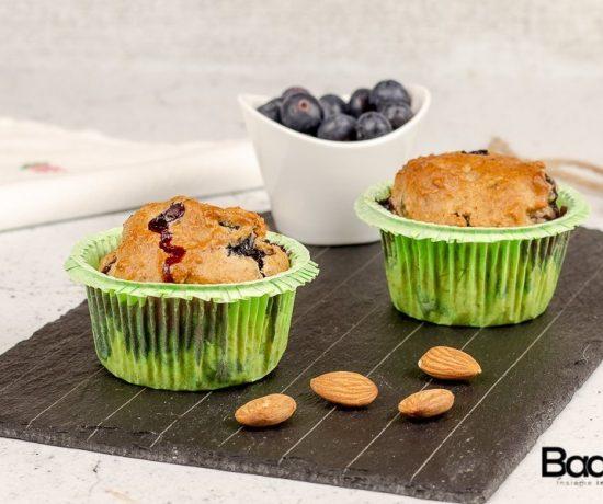Muffin semintegrali ai mirtilli- selezione casillo