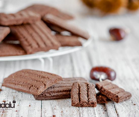 Biscotti al cacao e castagne Selezione Casillo