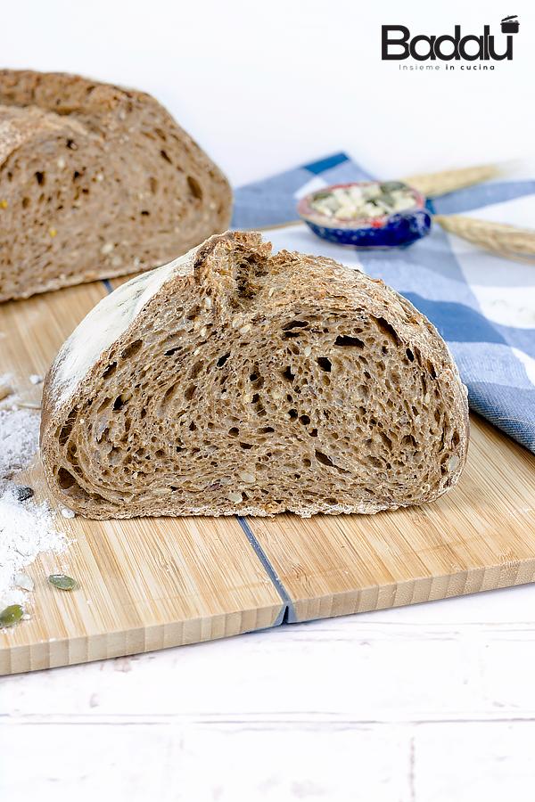 Pane con farina integrale e multicereali - selezione casillo