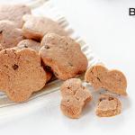 Biscotti al latte e cacao con gocce di cioccolato