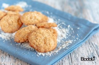 Biscotti al cocco con muesli senza glutine