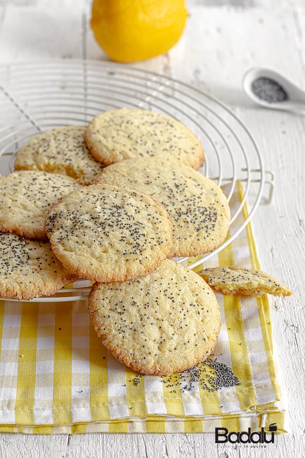 Biscotti al limone e semi di papavero di Martha Stewart