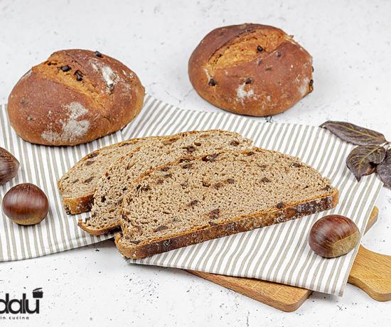 Pane con farina di castagne e cioccolato fondente - lo conte decorì