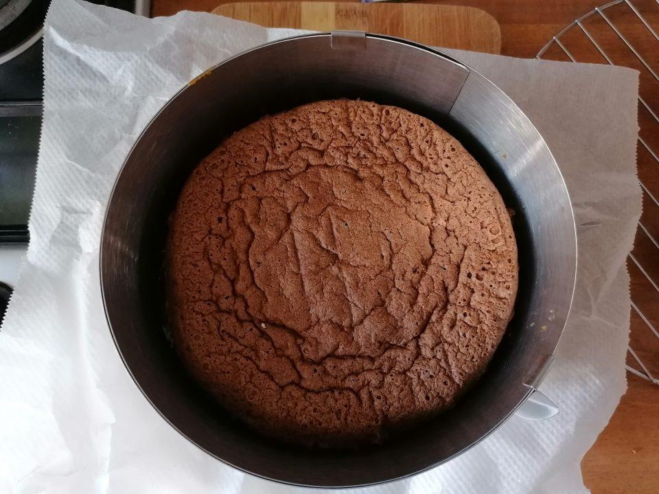 Torta al cioccolato e arachidi