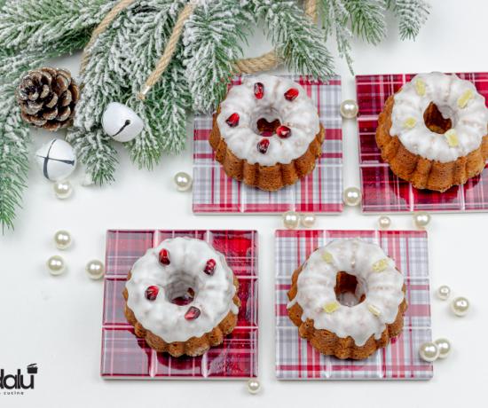 Ciambelle natalizie al profumo di zenzero e cannella