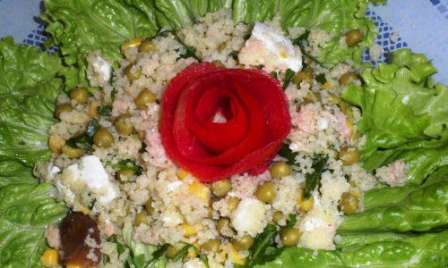 Cous cous in insalata e Vincita Contest