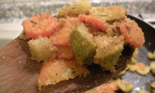 Padellata di verdure al limone e pangrattato – Ricetta leggera