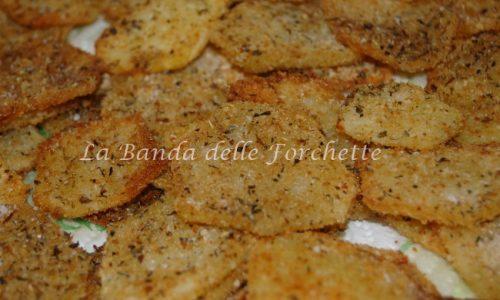 Patate all'origano fritte al forno
