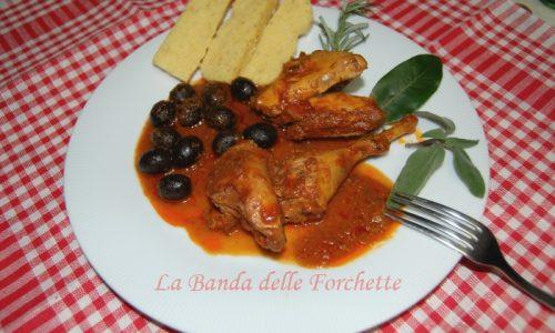 Fagianella di Colleoli alla cacciatora..e un po' di Toscana!