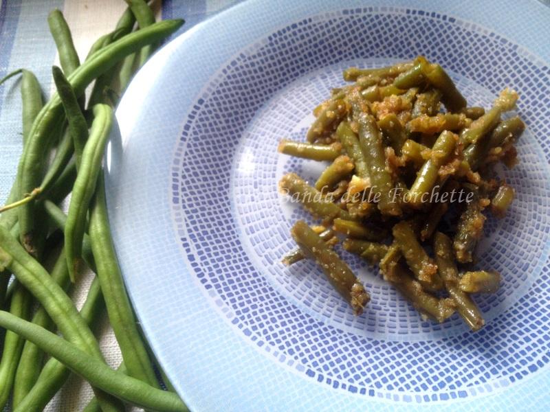 fagiolini al balsamico e parmigiano