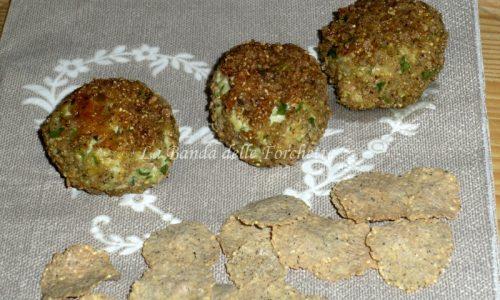 Crocchette di tacchino in panatura di corn flakes al grano saraceno