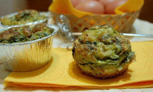 Muffins di uova, salvia e cipolla, Ricetta antipasto