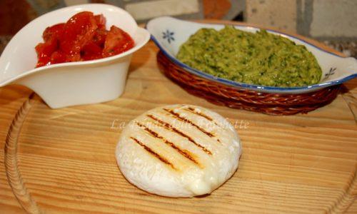 Tomino grigliato con salsa verde