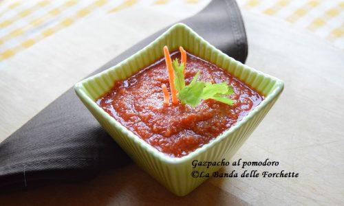 Gazpacho al pomodoro, ricetta aperitivo freddo