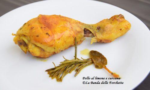 Pollo al limone e curcuma