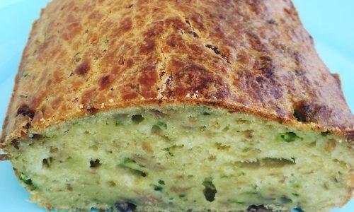 Plumcake di asparagi, tonno e alici