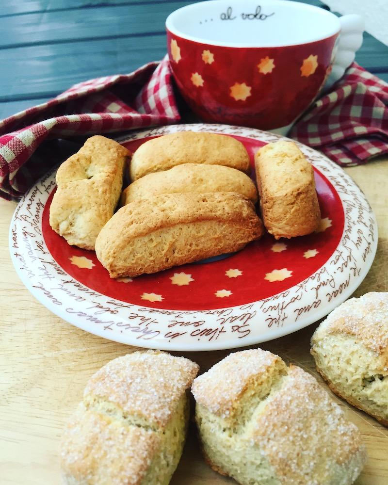 Biscotti facili e veloci, colazione e tè