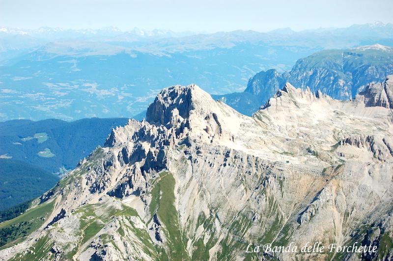 Trentino Alto Adige Gruppo del Latemar Avioturismo