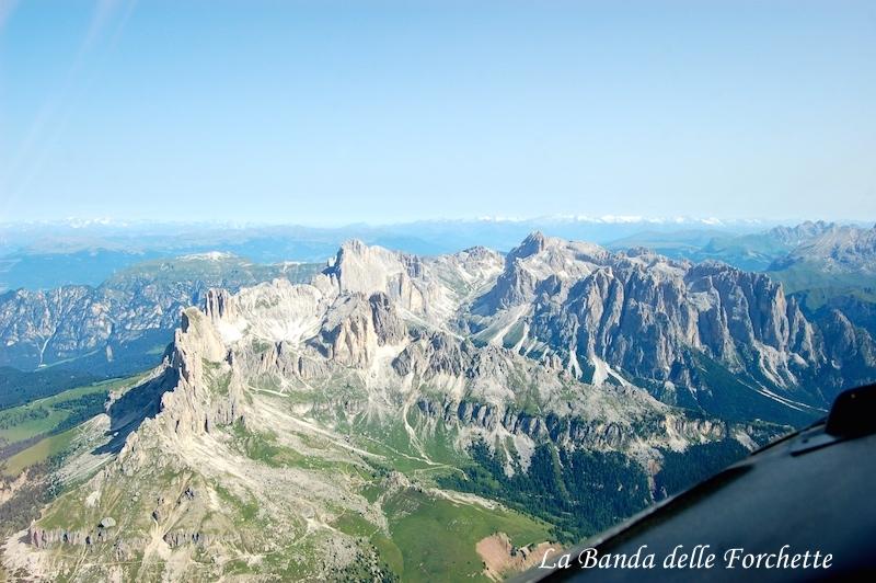 Trentino Alto Adige Catinaccio Avioturismo