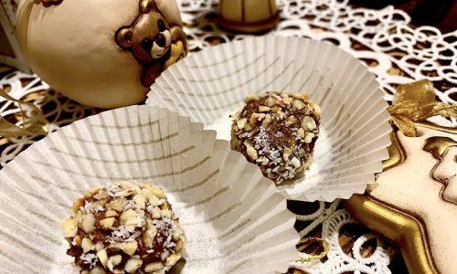 Praline di cioccolato al rhum