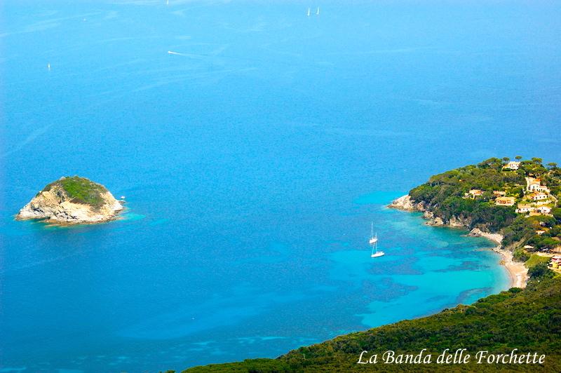 Avioturismo Italia Toscana Capo di Frugoso e Isola dei topi