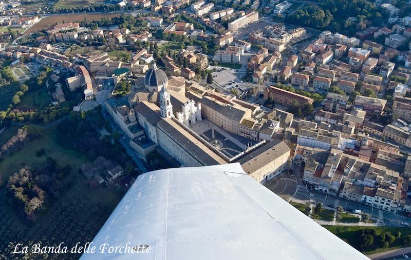 Avioturismo Italia Marche Santuario di Loreto