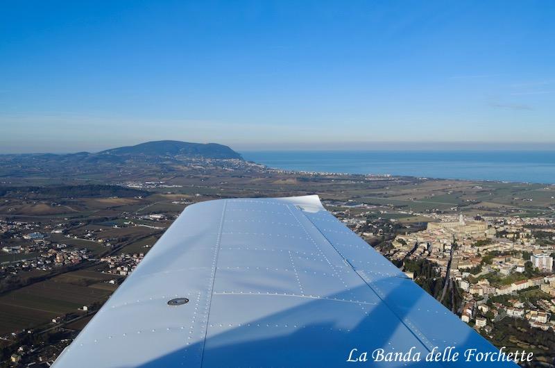Avioturismo Italia Marche Conero