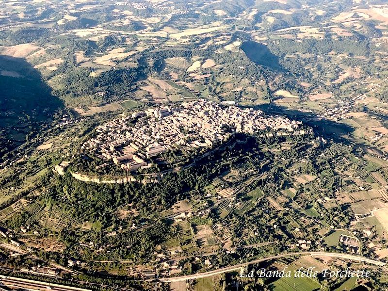 Avioturismo Italia Unbria, Rocca Albornonziana Spoleto