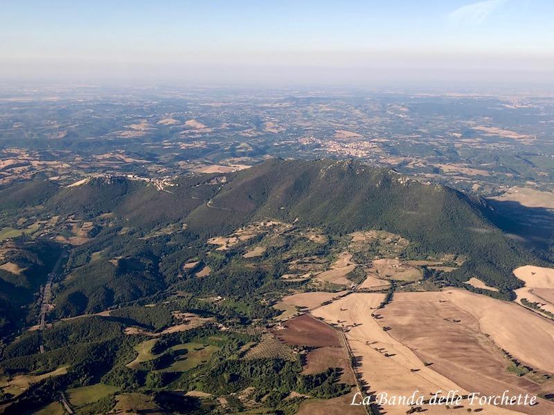 Avioturismo Italia Lazio Monte Soratte