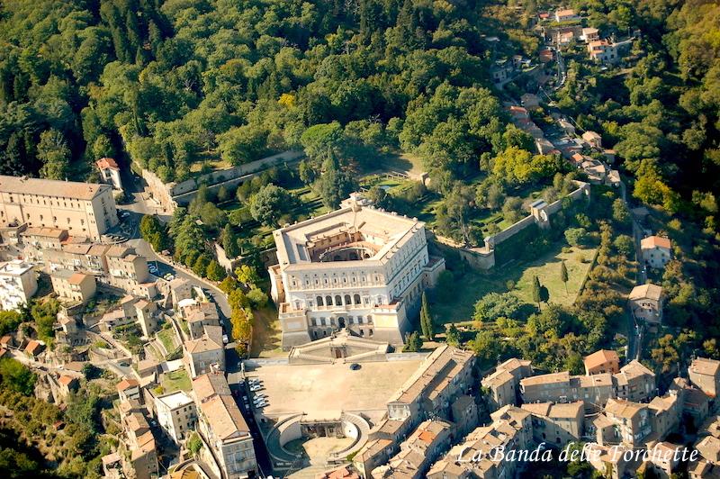 Avioturismo Italia Lazio Villa Farnese